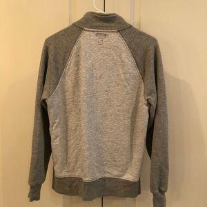 J. Crew Sweaters - Gray J. Crew Vintage Fleece Zip Up
